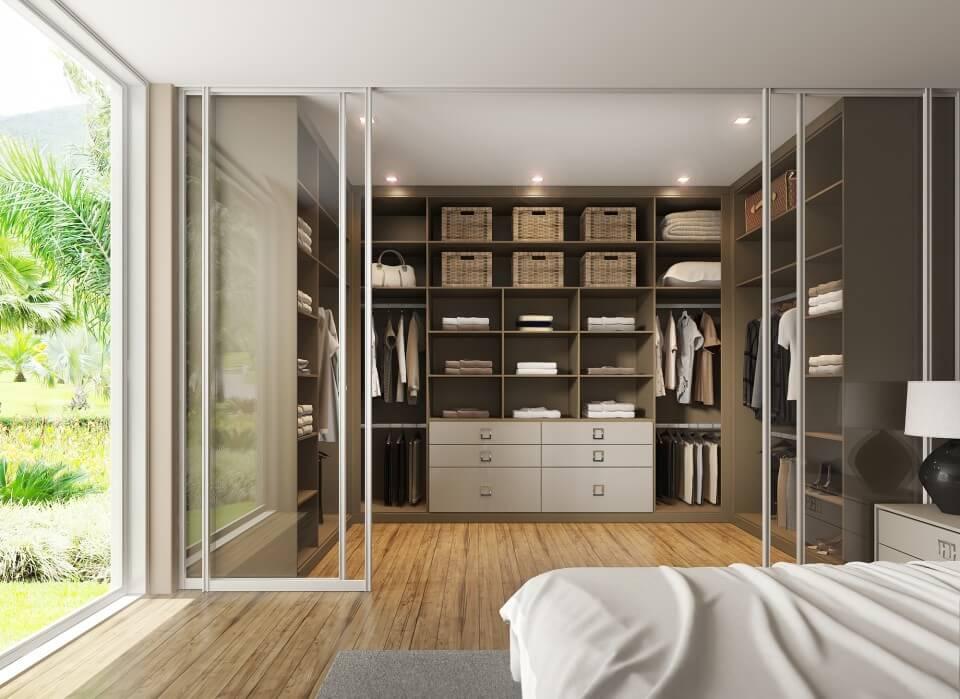 Precioso Móveis - Planejados closet de casal