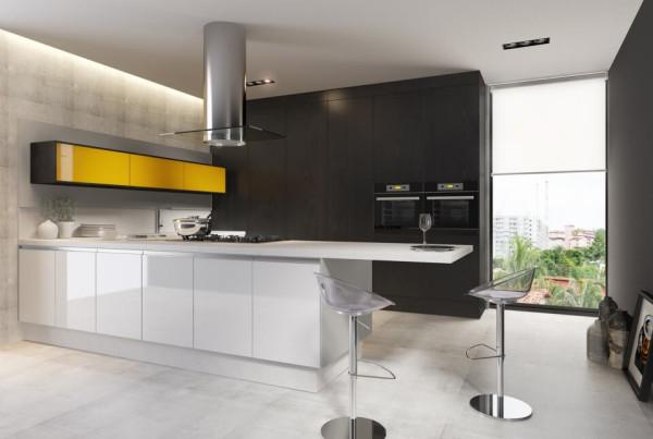 Precioso Móveis - Planejados cozinha modulada clean
