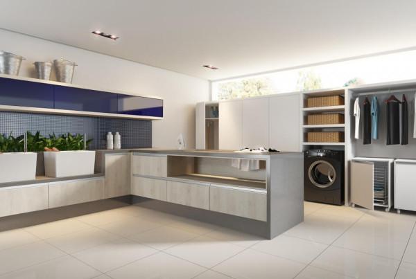 Precioso Móveis - Planejados lavanderia e lavabo