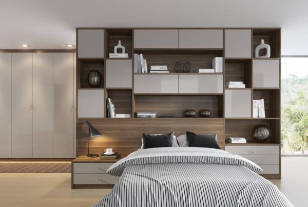 Precioso Móveis - Planejados quarto de casal