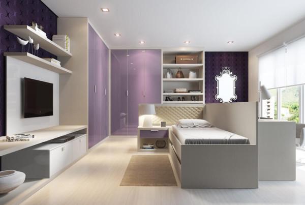Precioso Móveis - Planejados quarto teen